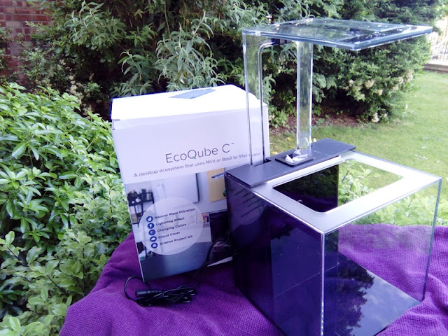 Ecoqube C Portable Ecosystem Alongside Controllable Led Light!