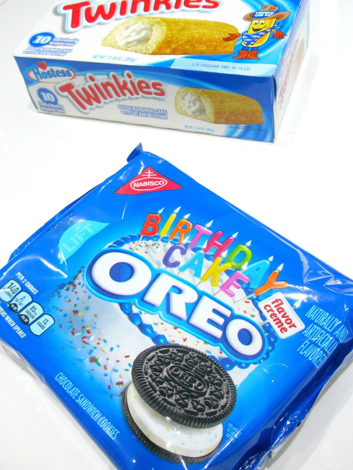 oreo birthday cake, oreo, american oreo, twinkies, twinkies uk