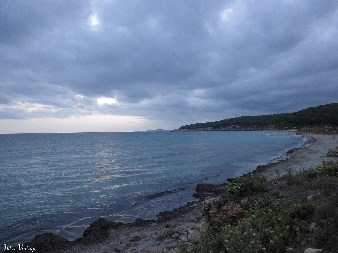santo tomas, menorca, playa, anochecer, momentos
