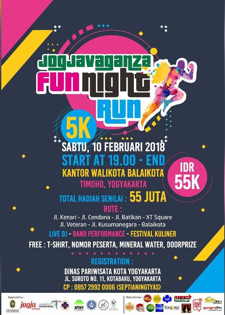 Jogjavaganza Fun Night Run • 2018