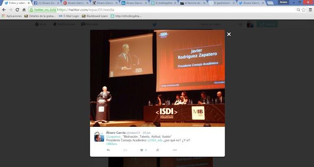 MIBer - MIBers - el MIB en imágenes: Twitter - ISDI - Álvaro García - ÁlvaroGP - Social Media & SEO - Google Spain - Google España - Javier Rodríguez Zapatero
