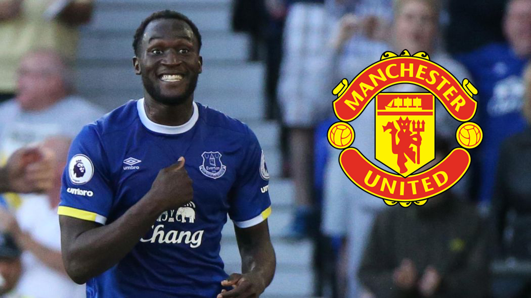 Manchester United agree £75m fee for Everton striker Romelu Lukaku