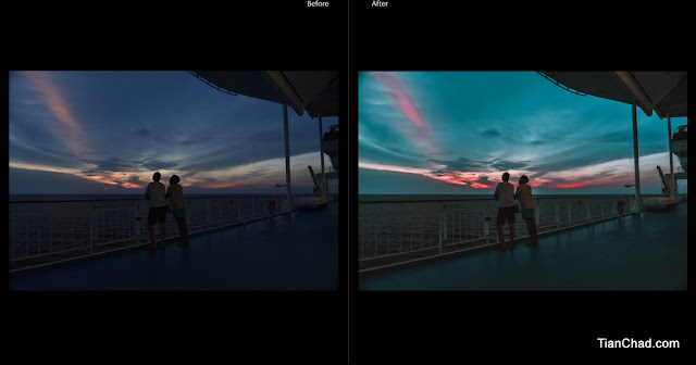 How To Get 'Teal and Orange' Look Using Adobe Lightroom - Before and After