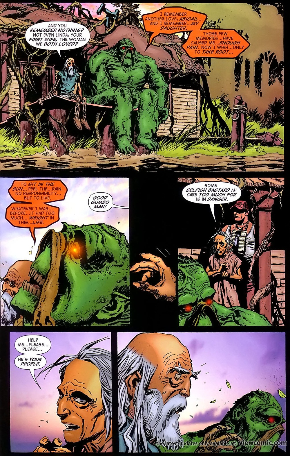Swamp thing v4 021 reading comics online for The thing free online