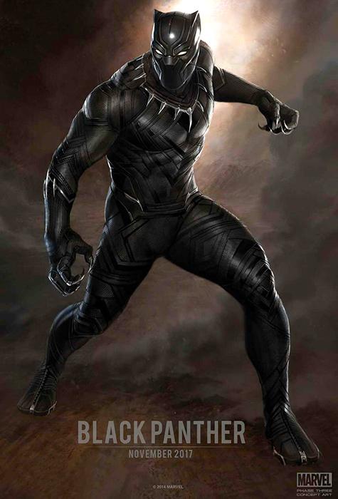Concept Marvel pentru armura lui Black Panther