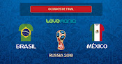 Brasil vence 2 por 0 a México con brillante actuación de Neymar