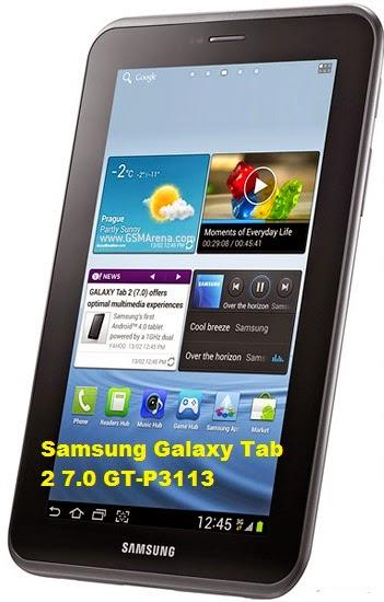 cara flash Samsung Galaxy Tab 2 7.0 GT-P3113