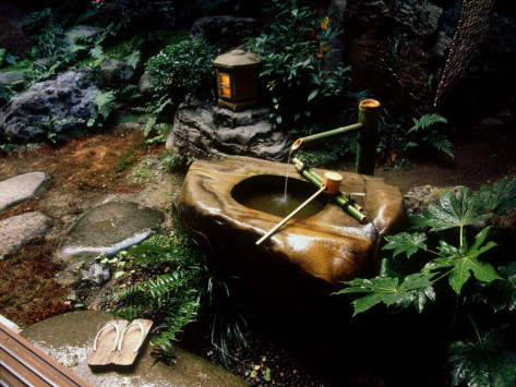 It Is Based On The Belief That Water Rids Us Of Earthly Impurities And Is  The Reason We See Low, Stone Water Basins In Japanese Gardens.