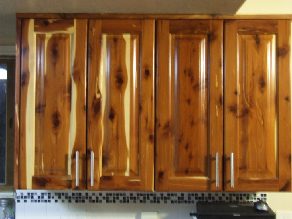 cedar cabinets for kitchen