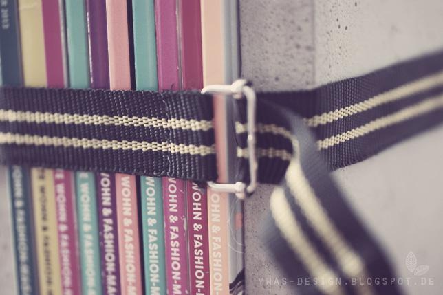 Ynas-Design, Buchstützen aus Beton