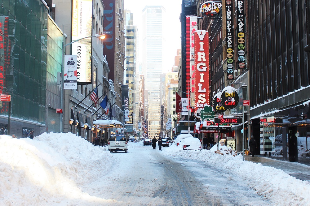 NYC snowstorm | weekend in New York | travel and lifestyle blog