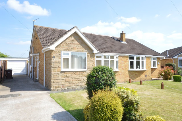 This Is Wakefield Property - 2 bed semi-detached bungalow for sale Maybury Avenue, Durkar, Wakefield WF4