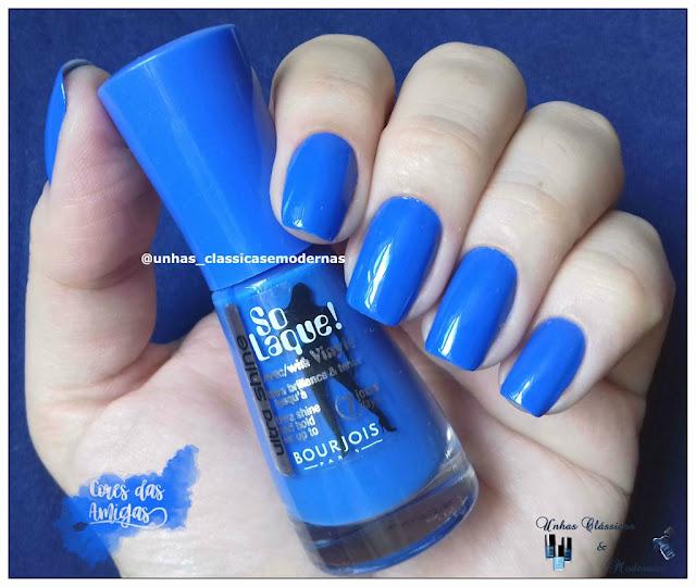 Bleu Fabuleux Bourjois Esmalte Nailpolish