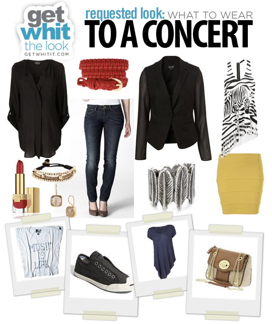 Requested Look: What to Wear to a Concert | Get WHIT It