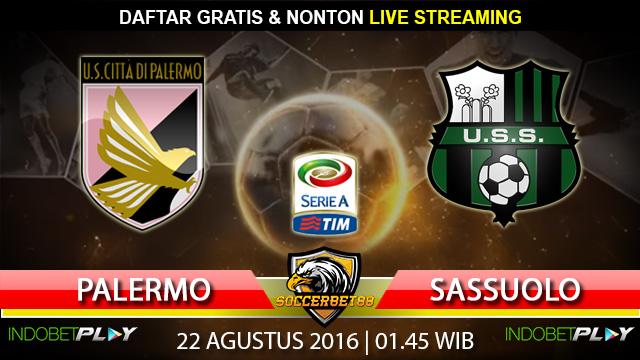Prediksi Palermo vs Sassuolo 22 Agustus 2016 (Liga Italia)