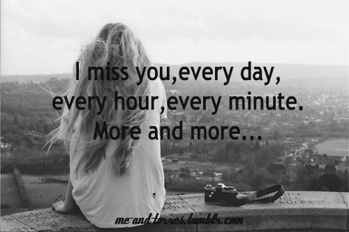 I miss you qoute tumblr