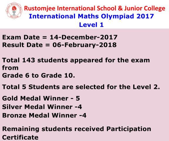 Junior Maths Olympiad 2018