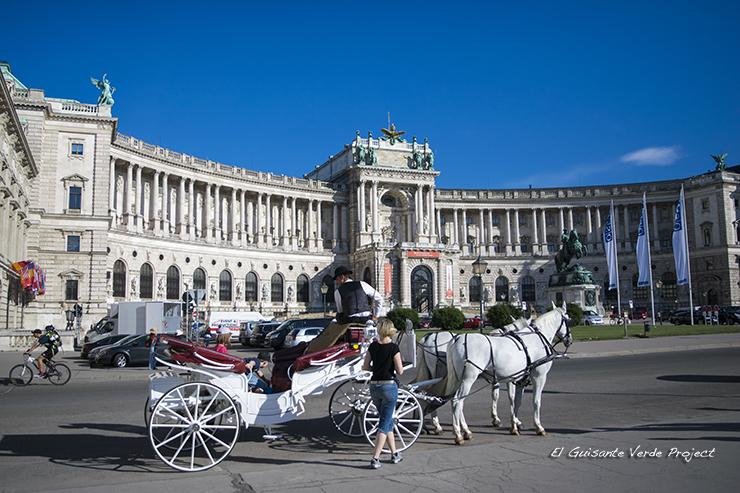Carroza en el Hofburg - Viena por El Guisante Verde Project