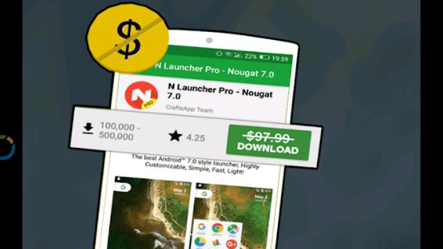 تطبيق خرافي جديد أطلق بالأمس لتحميل مجانا تطبيقات وألعاب مدفوعة ثمنها ضخم جدا على غوغل بلاي