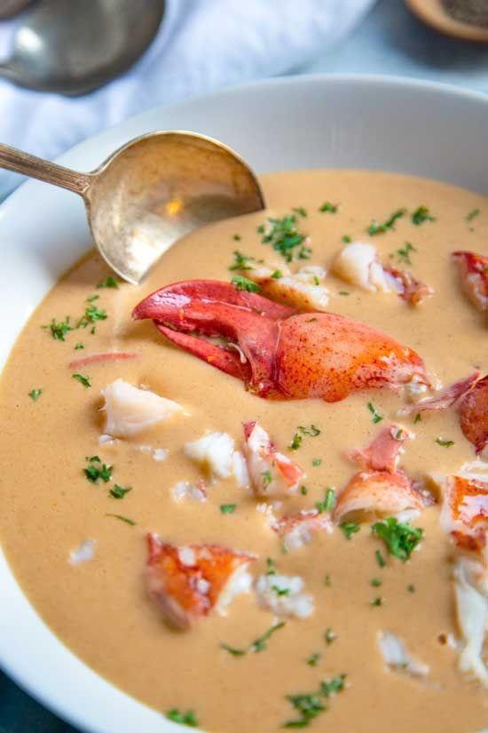 Restaurant Quality Lobster Bisque