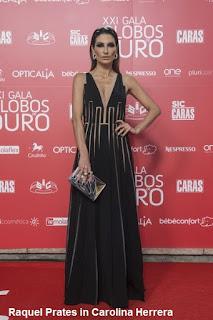 Raquel%2BPrates%2B %2BCarolina%2BHerrera - GLOBOS DE OURO - PORTUGAL 2016