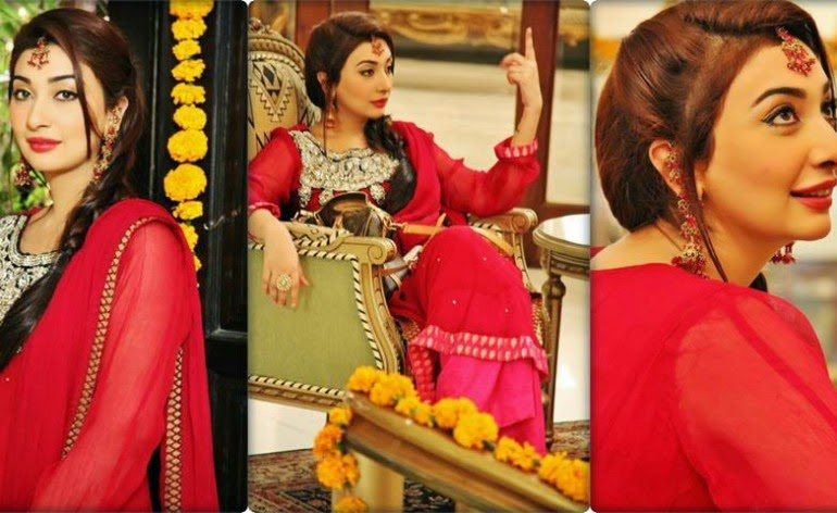 Ayesha Khan & Humayoon Saeed Wedding Pictures ...