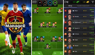 Game Manager Sepak Bola Terbaik Android dan IOS - Golden Manager