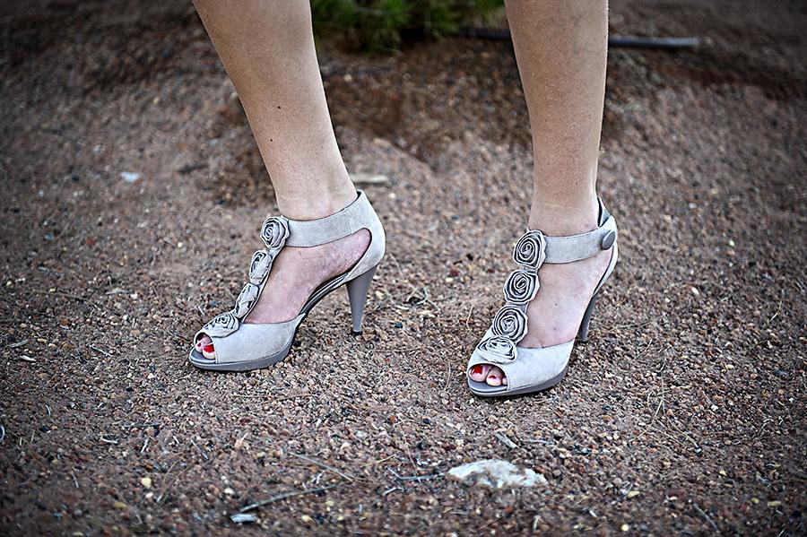 Silver Heels, Flower Heels
