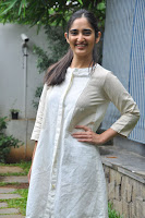Radhika Cute Young New Actress in White Long Transparent Kurta ~  Exclusive Celebrities Galleries 066.JPG