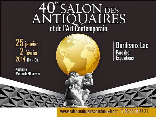 CAPTON AU SALON DES ANTIQUAIRES ET DE L'ART CONTEMPORAIN DE BORDEAUX
