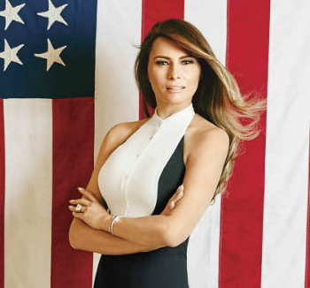 melania trump naked photos