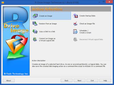 Screenshot R-Drive Image 6.1 Build 6109 Full Version