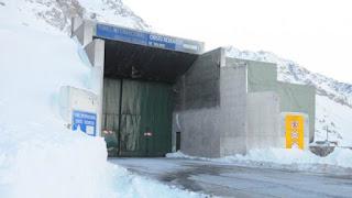 El túnel Cristo Redentor fue inhabilitado por las autoridades pasadas las 5 de este jueves.