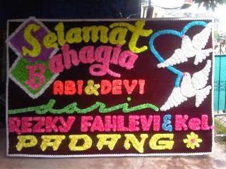 papan bunga di pekanbaru