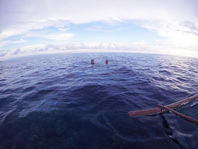 Snorkeling at Balicasag Island, Bohol
