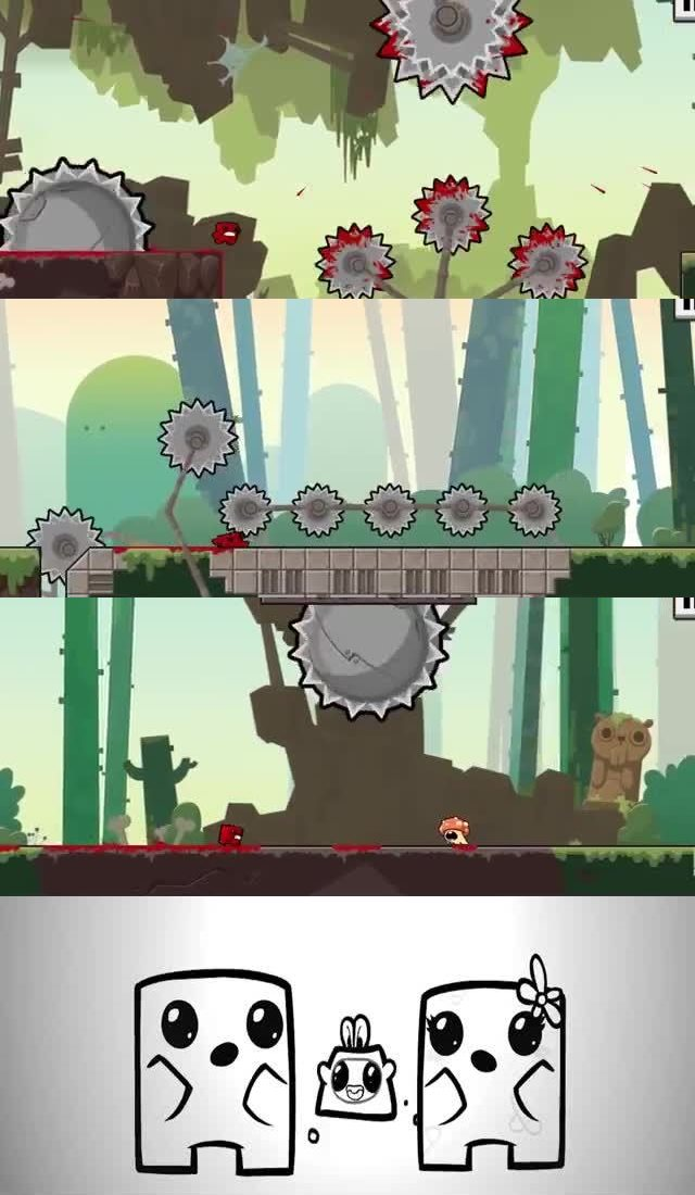 50 UPCOMING NINTENDO SWITCH GAMES OF 2018 33. Super Meat Boy Forever
