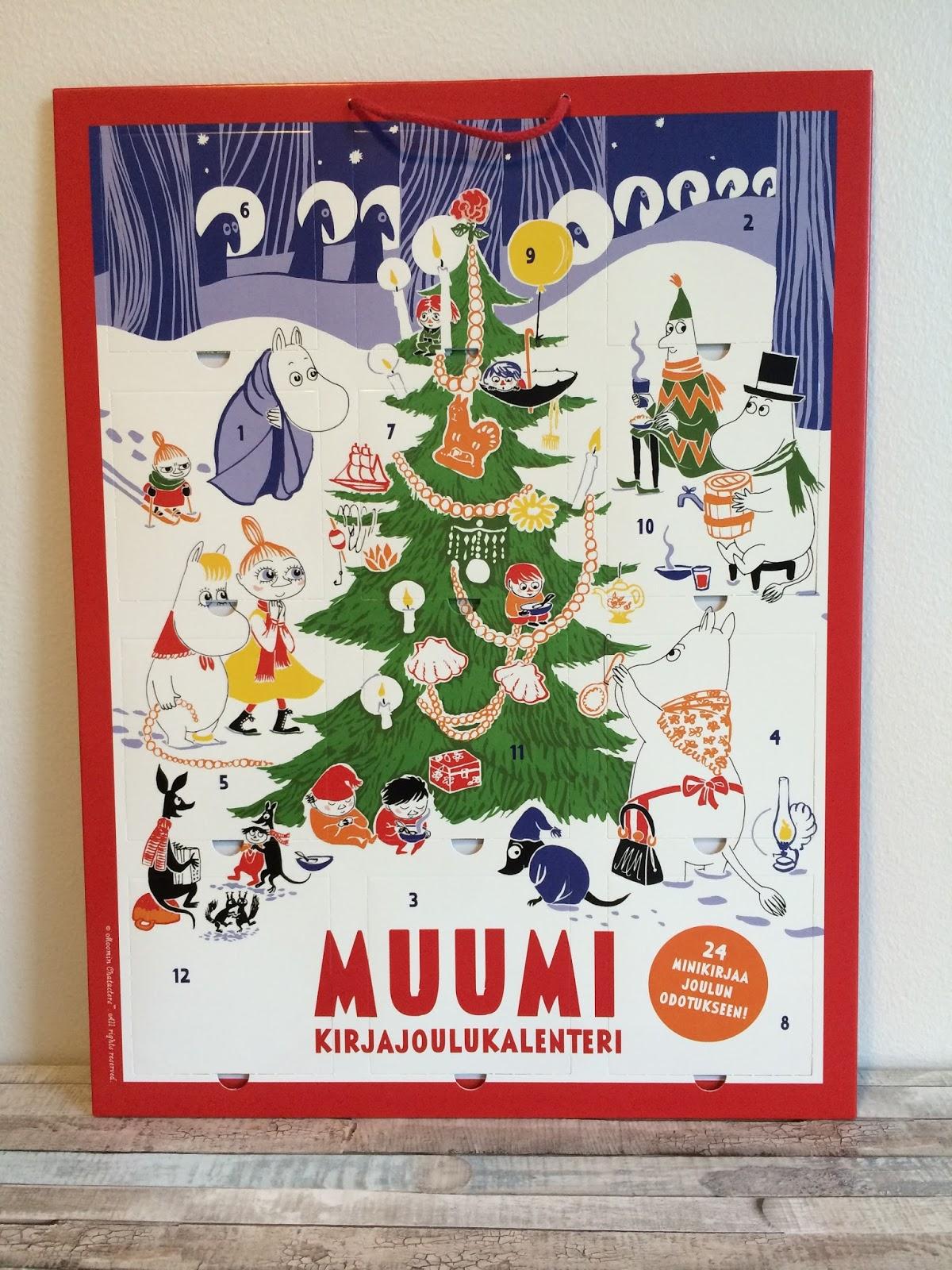 Meidän joulukalenterit