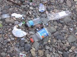 Be a good environmental steward and POLICE YOUR TRASH
