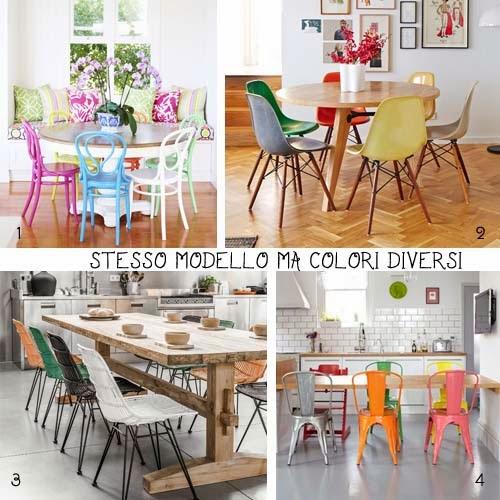 Tavolo Bianco E Sedie Colorate.Scegli Le Sedie Arredamento Facile