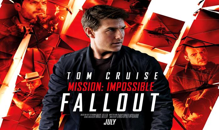 Top 5 Best Hollywood Movies 2018, mission impossible fallout