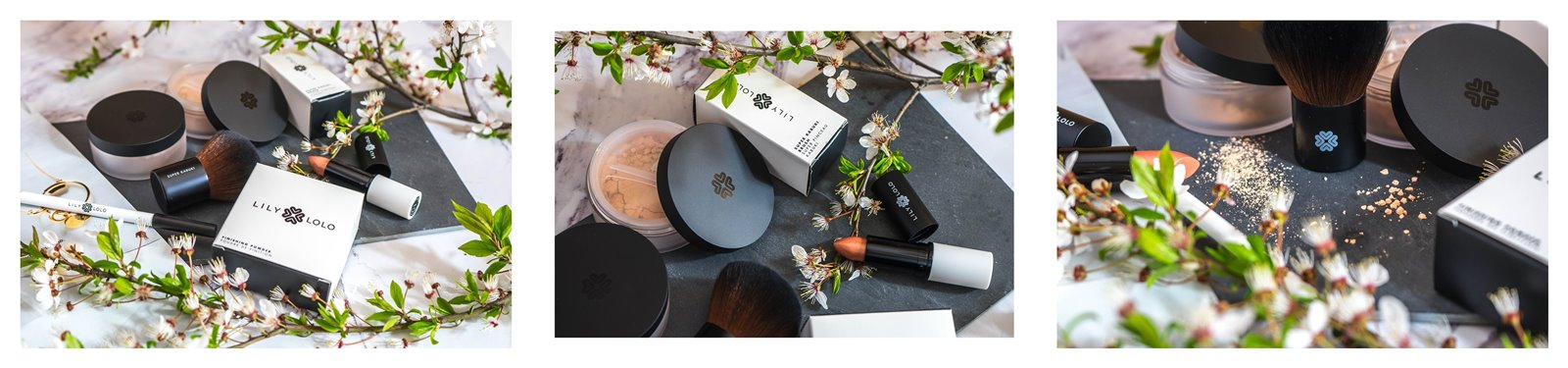 5a jak nakładać kosmetyki mineralne lily lolo opinia recenzja jak stosować puder matujący pędzel super kabuki cena blog szminka naturalne kosmetyki dla wegan puder mineralny podkład kredka do oczu szminka