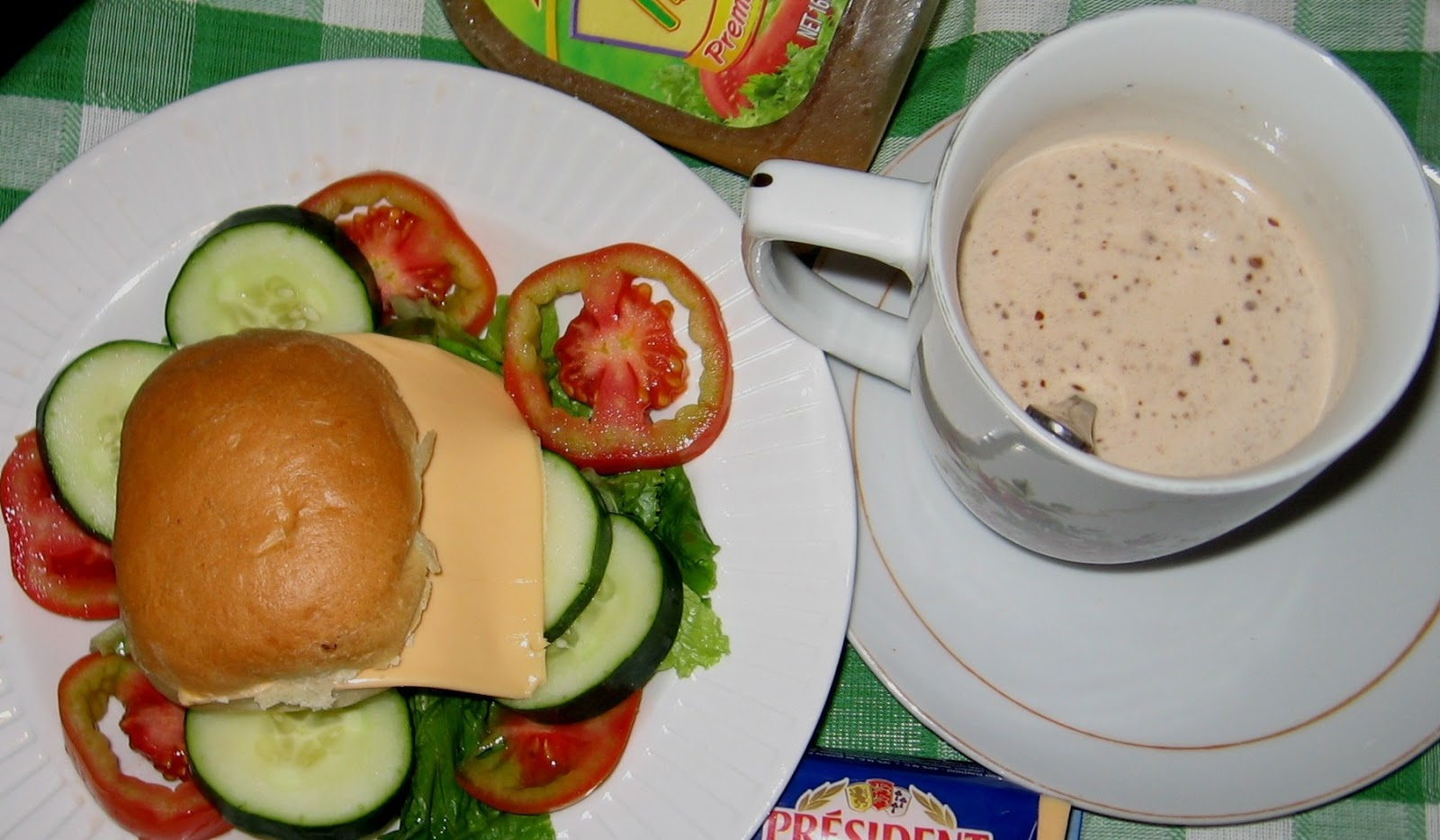Healthy nigerian breakfast tips 1 and 2 bread rolls with cheese vegetable salad and beverages forumfinder Image collections