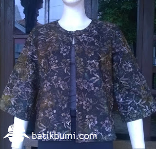 Blazer Batik cap