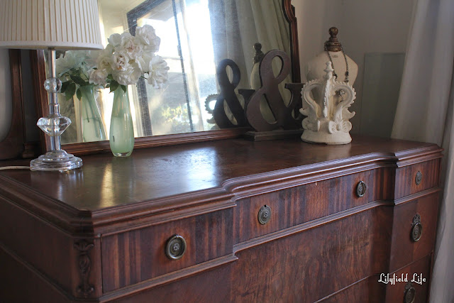 beautiful vintage walnut drawers