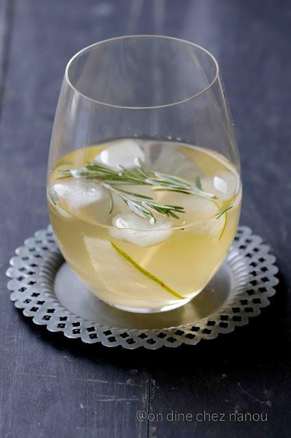 palais des thés , poires , romarin , fêtes , limonade , fraîcheur