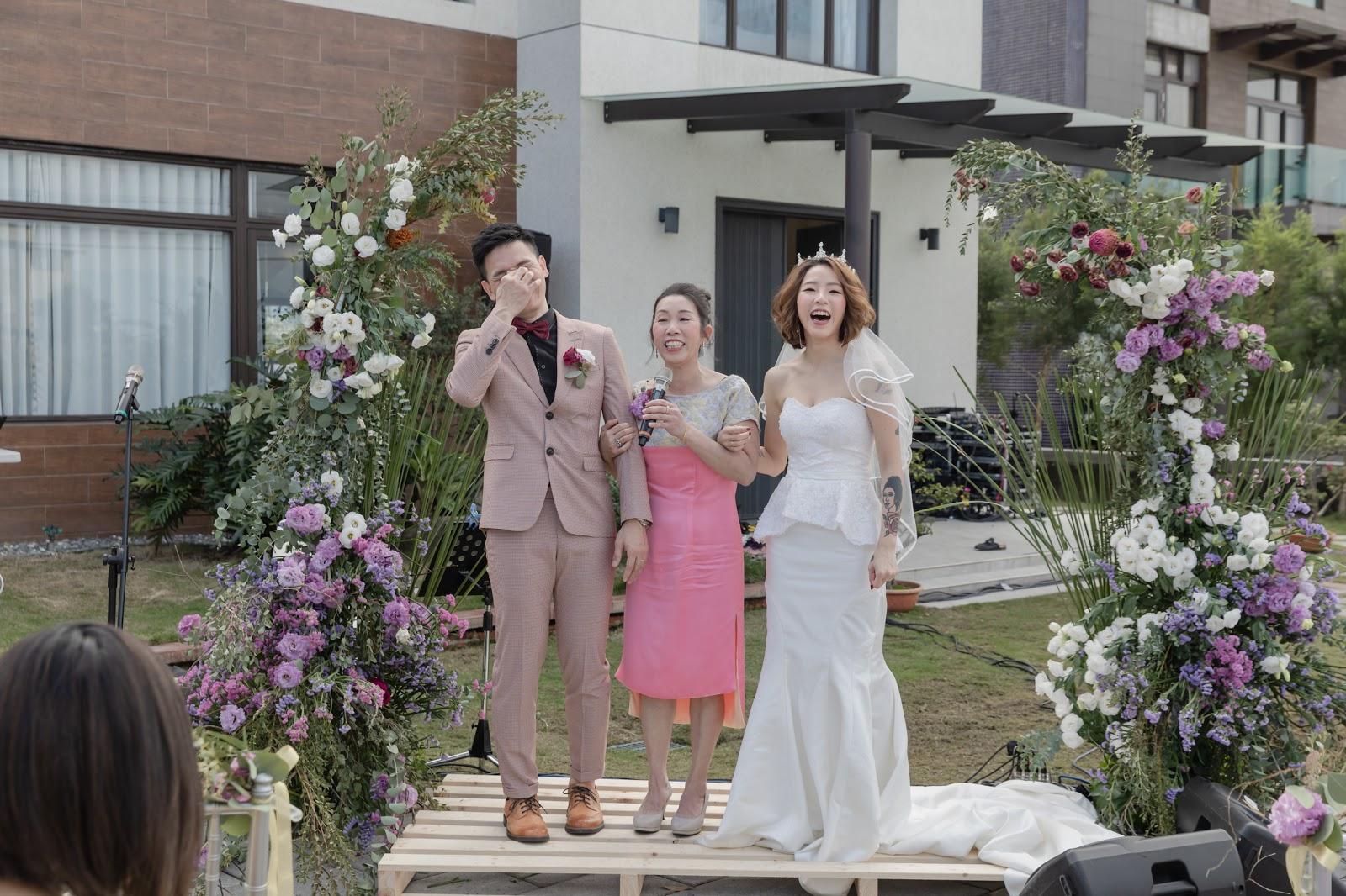 雙蛋黃民宿 戶外婚禮