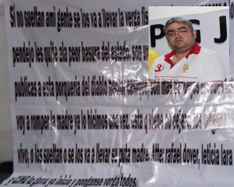 """""""La guerra ya inicio pónganse verga todos"""", CJNG se adjudica en narcomanta la muerte de Héctor Casique."""