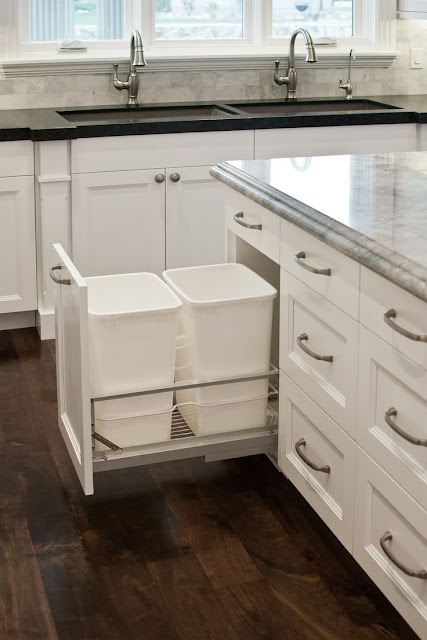 Wooden Trash Bins For Kitchen