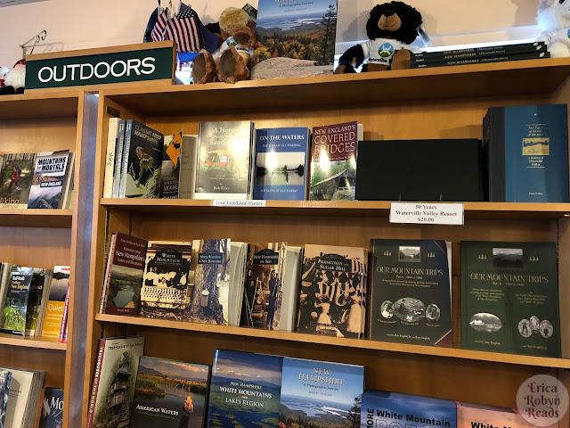 The Outdoors section of The BookMonger