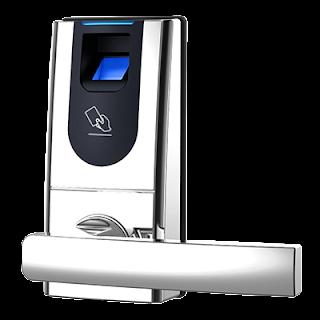 cerradura biométrica de huella dactilar
